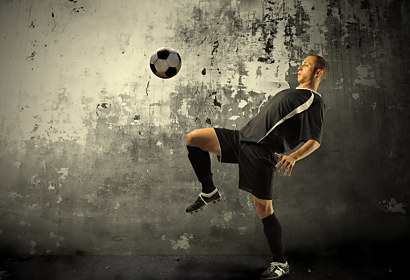 Fototapeta Football player 283