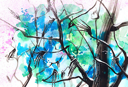 Fototapeta Abstract tree 3305