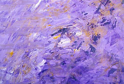 Fototapeta - Abstract Violet Painting 146