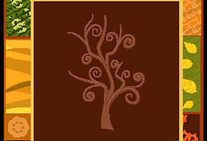 Fototapeta Brown Tree 5302