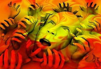Fototapeta Face and Hands 5463