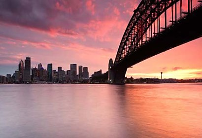Fototapeta Sydney Harbour bridge 6606