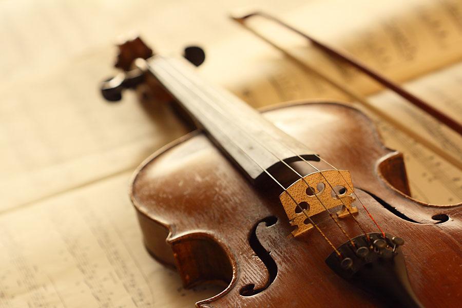 Рисунок скрипки