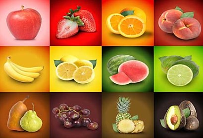 Fototapeta Fruit Mix 2065