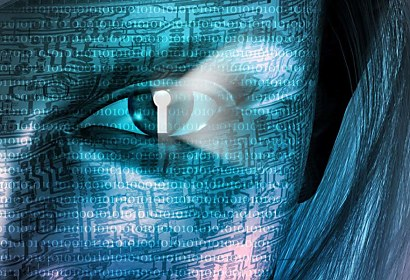 Fototapeta Matrix Face 415