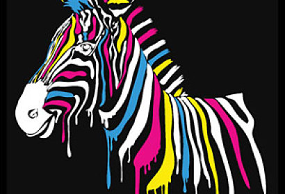 Fototapeta Pop Art - Zebra 4536