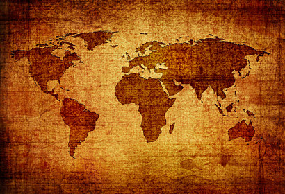 Fototapeta Vintage World Map 58