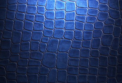 Fototapeta Crocodile skin blue ft-30415008