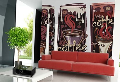 Fototapeta - Hot Chocolate and Coffee 5158