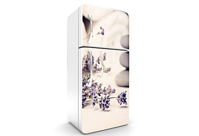 Fototapeta - Spa Stones and Lavender 6437